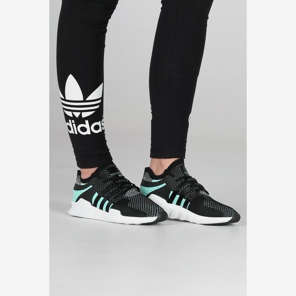 quality design 09f7f 1cb2c ADIDAS WOMEN'S EQT SUPPORT ADV PRIMEKNIT MINT